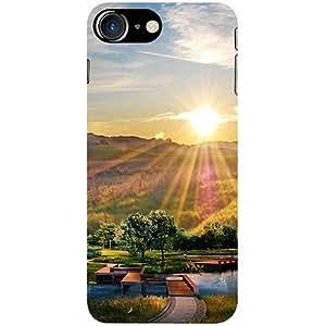 Casotec 3D Landscape Design 3D Printed Hard Back Case Cover for Apple iPhone 7