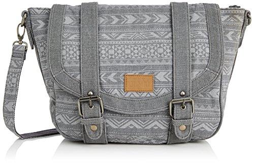 Animal Womens Elate Cross-Body Bag Asphalt Grey