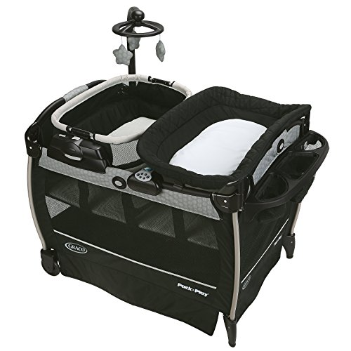 Graco Pack 'n Play Playard Nearby Napper Portable Infant Bedding, Davis (Graco Portable Playard compare prices)