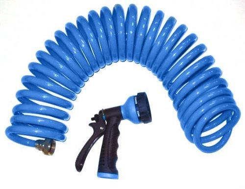 Orbit-Sunmate-27891-Lawn-Garden-Blue-Coil-Hose-Spray-Nozzle-50-Foot