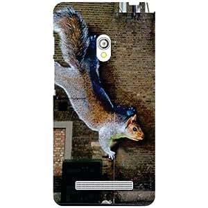 Asus Zenfone 5 A501Cg-Squirrel Matte Finish Phone Cover