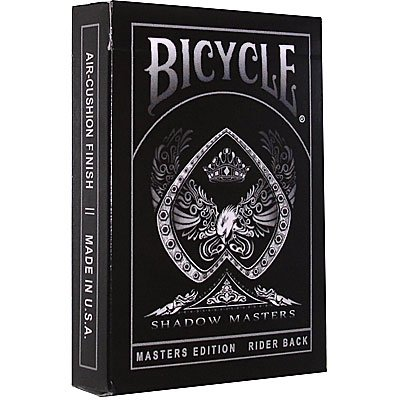 Sale!! Bicycle Shadow Masters BLACK Deck of Playing Cards by Ellusionist
