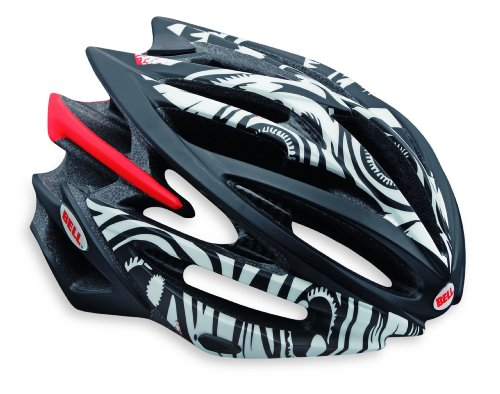 "Bell Volt Racing Bicycle Helmet Matte White/Black Jimbo Phillips Eyeballs Small  (51 - 55cm / 20 - 21.75"")"