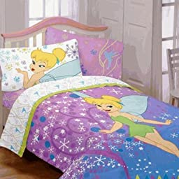 Disney Fairies Tinker Bell Twin Comforter Pixie Power