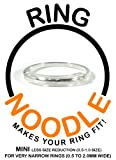 Ring Guard by RING NOODLE 3 pack (MINI - less reduction) - Ring Size Reducer, Ring Guard, Ring Size Adjuster