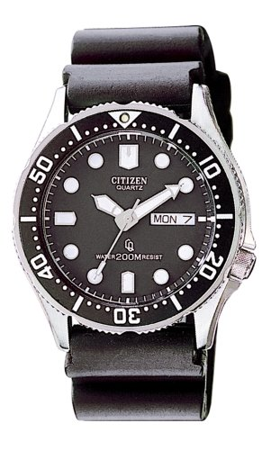 Buy Cheap Citizen Men S Aj0100 02e Professional Diver Black