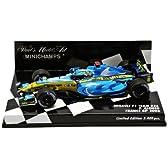 Minichamps DP 1/43 ルノー F1 R26 アロンソ 2006 フランスGP 2位