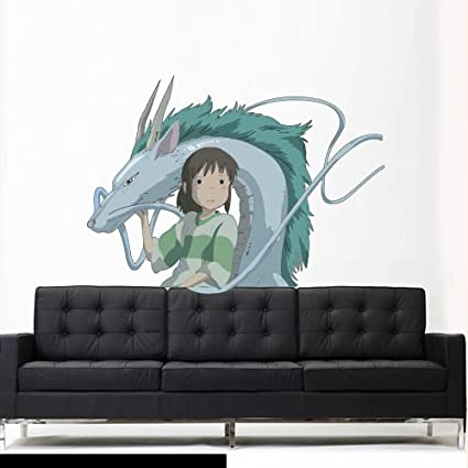 Beautiful dragon wall decals easy to apply and remove for Mural naruto