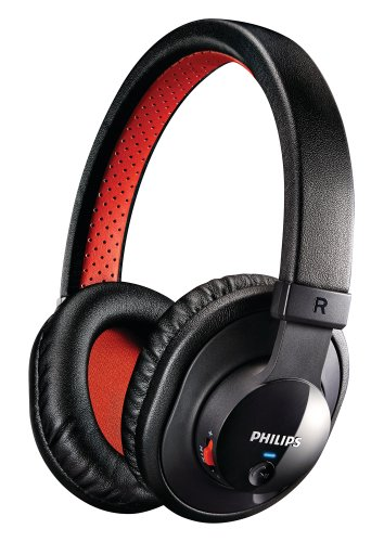 Philips SHB7000/10 Cuffie Stereo Bluetooth, colore: Nero