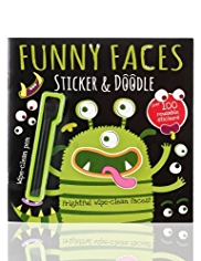Funny Faces Alien Book