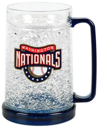 Washington Nationals 16oz Crystal Freezer Mug at Amazon.com
