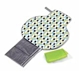 The First Years Deluxe Fold and Go Diaper Kit Color: Gray/ Multi Dot Infant, Baby, Child