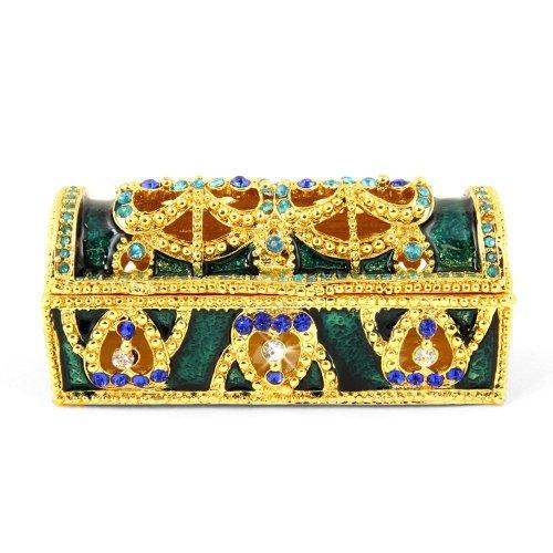 Objet D'Art トリンケットボックス リリースNo.3 「Jade」緑色の宝箱の宝石箱