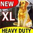 Waterproof Protective Rear Car Seat Dog / Pet Cover (Heavy Duty Hammock Style)