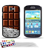 GENUINE Extra-Slim rigid Black Case Chocolate By MUZZANO for SAMSUNG GALAXY EXPRESS + 3 UltraClear Screen protector