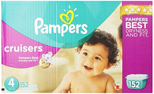 Pampers Cruisers Diapers Size 4 Economy Pack