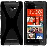 mumbi X-TPU Schutzhülle HTC Windows Phone 8X Hülle schwarz
