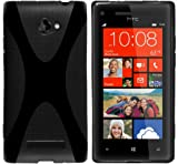 Mumbi X-TPU Protective Phone Case for HTC Windows Phone 8X Black