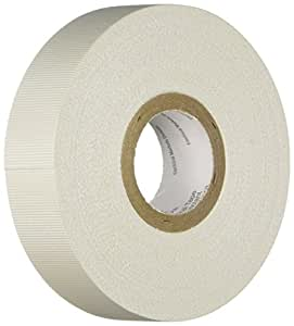 3M Glass Cloth Electrical Tape 27, White, Rubber Thermosetting Adhesive, .75-Inch by 66-Foot