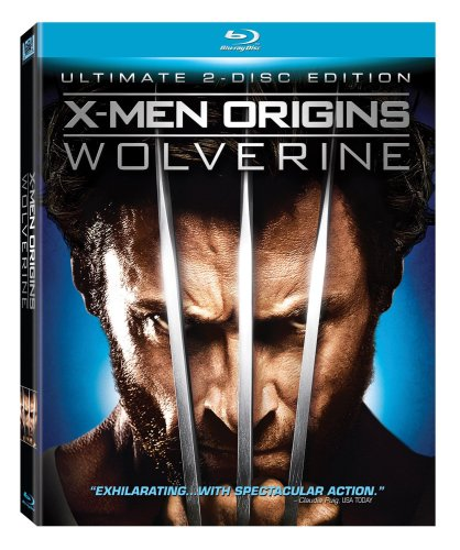 Cover art for  X-Men Origins: Wolverine (Two-Disc Ultimate Edition) [Blu-ray]