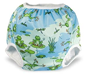 Toddler Potty Training Pants By Bummis (Large (40+ lbs), Frog)