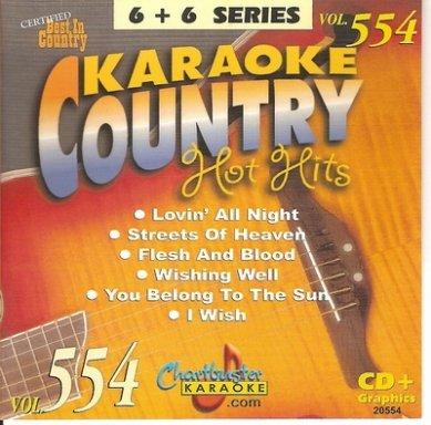 Chartbuster Karaoke Country Hot Hits Vol 554