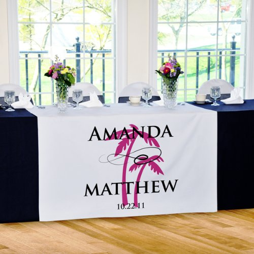 Beach Wedding Table Runner