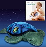 Twilight Sea Turtle Constellation NIght Light by Cloud b & Baby Love - Song Time CD