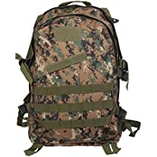 Imported 3D 40L Tactical Military Backpack School Hiking Travel Bag Jungle Digital