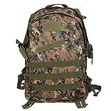 Imported 3D 40L Tactical Military Backpack School Hiking Travel Bag Jungle Digital