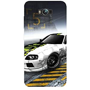 BetaDesign Cars Back Cover, Designer Cover for Asus Zenphone Max (Multicolor)