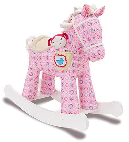 Little Bird Told Me LB3032 Ruby & Belle Rocking Horse Ride On - 1