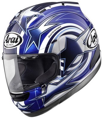 51yQyGhTIyL Arai Corsair V Five Graphic Motorcycle Helmet   Edwards Blue Medium