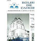 Eglise de cahors, revue religieuse du diocese de cahors, 113e annee, n°3-7, n°11, n°12 (mars-juillet, nov., dec...