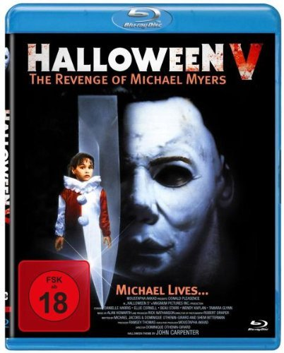 HALLOWEEN V - The Revenge of Michael Myers [Blu-ray]