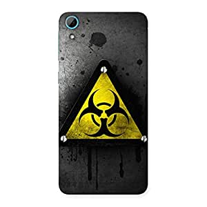 Premium Three Nut Triangle Multicolor Back Case Cover for HTC Desire 826