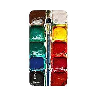 RICKYY _J5_1301 Printed Matte designer Seven color case for Samsung J5