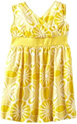 Tea Collection Little Girls' Sea Urchin Wrap-Neck Dress