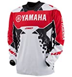 One Industries Atom Team Yamaha Jersey - Large/Red