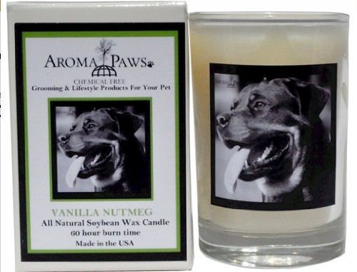 Aroma Paws 305 Breed Candle 5 Oz. Glass-Gift Box - Rottweiler