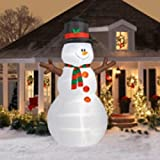 12' Tall Airblown Christmas Snowman Inflatable - Garden outdoor decoration