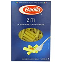 Barilla Ziti Pasta, 16 Ounce Boxes (Pack of 12)