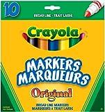 Crayola 10 Broad Line Markers Original