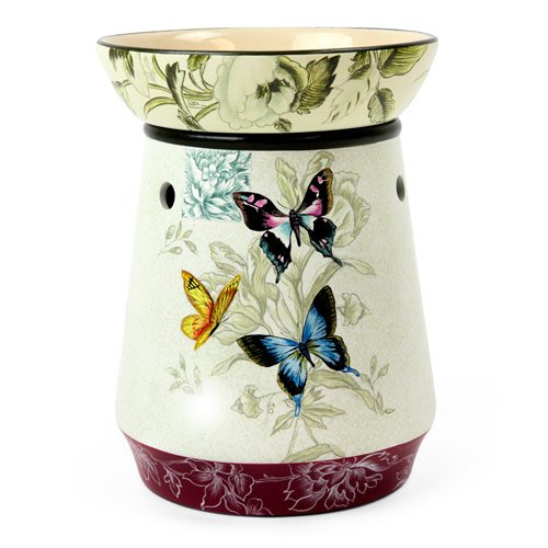 Tall Candle Warmer Butterfly