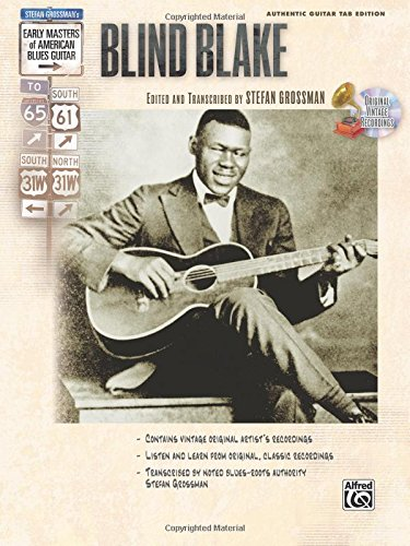 Stefan Grossman's Early Masters of American Blues Guitar: Blind Blake, Book & CD