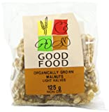 Good Food Pre-packed Organic Walnuts Light Halves (Pack of 5)