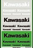 KAWASAKI (カワサキ) 純正部品 カワサキ Kawasaki 純正 カワサキステッカーセット14 J7010-0161 J7010-0161