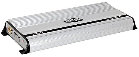 Lanzar Mosfet Amplificateur avec 2 canaux 4200 W Argent