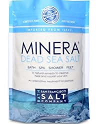 Minera Dead Sea Salt, 5lbs Fine Grain…