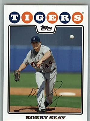 2008 Topps Detroit Tigers LIMITED EDITION Team Edition Gift Set # 33 Bobby Seay - MLB Trading Card